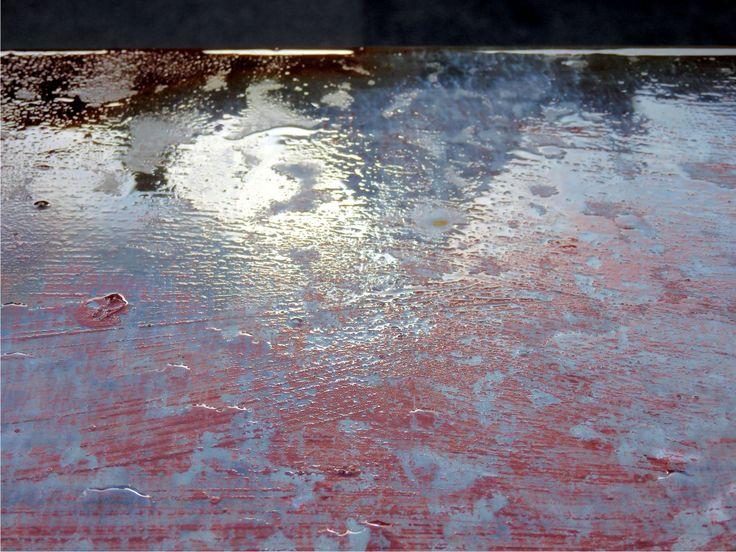 Parapet - začíná pršet