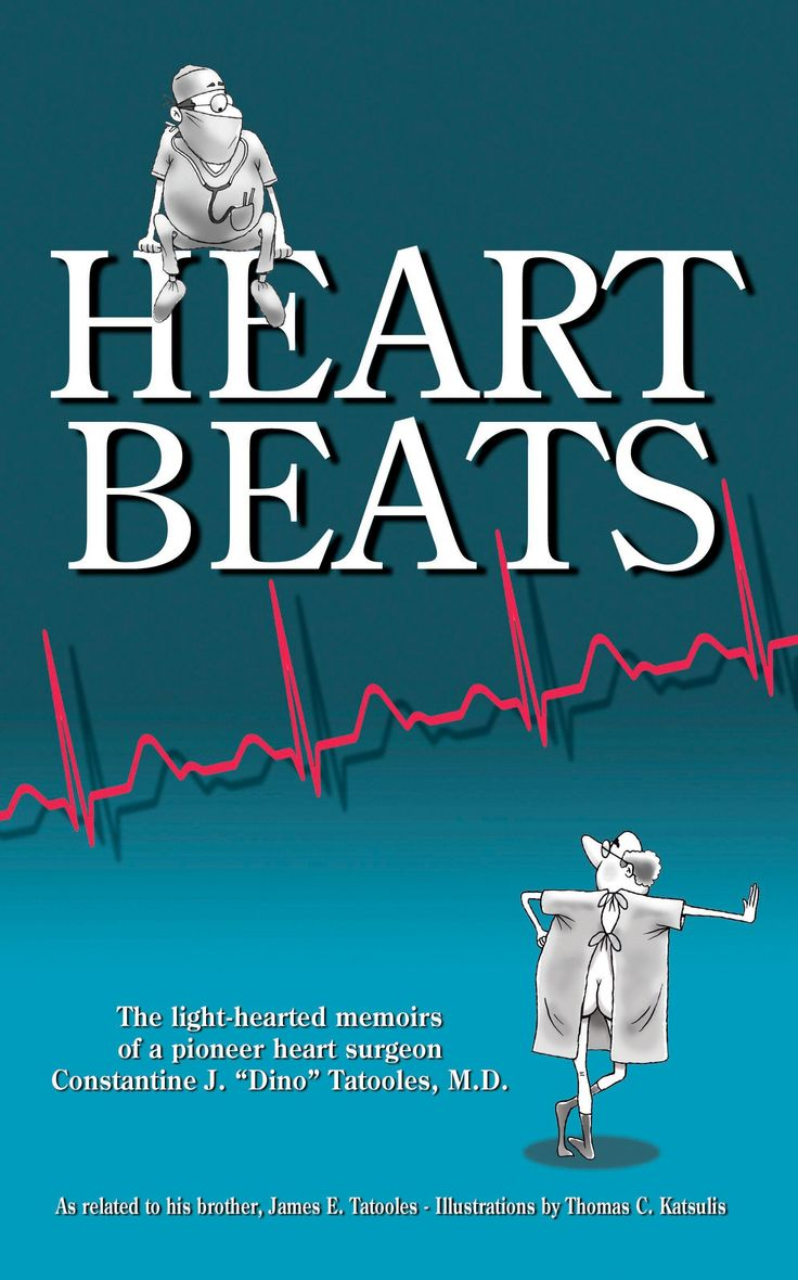 HEARTBEATS by James E. Tatooles: JUST PUBLISHED and out of the box with a fury! Be still my beating heart...  http://www.amazon.com/Heartbeats-light-hearted-memoirs-Constantine-Tatooles/dp/0692271325/ref=sr_1_1_bnp_1_pap?ie=UTF8&qid=1411260664&sr=8-1&keywords=Heartbeats+Tatooles