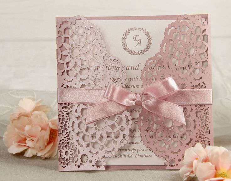 When you order our personalised wedding invitations you will receive a product made from highest quality materials including Swarovski crystals, satin ribbons and laser cut textured paper. Y OUR PERSONALISED LUXURY HANDMADE WEDDING INVITATIONS. | eBay!