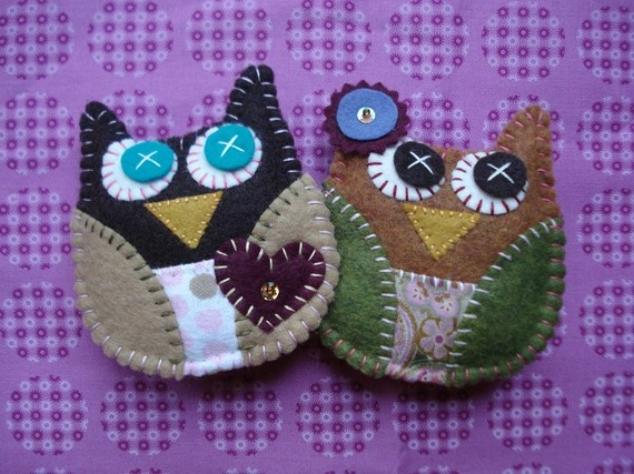 Owl Magnets on Spring Clothespins by sewwhimsycreations on Etsy, $11.00Reese Birthday, Spring Clothespins, Crafts Ideas, Felt Crafts, Owlsmi Fave, Owls Magnets, Owls Mi Fave