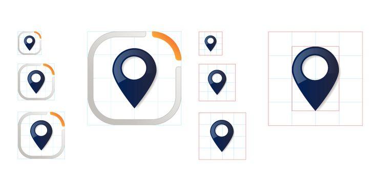 Nearme » Iphone app » Pin icon