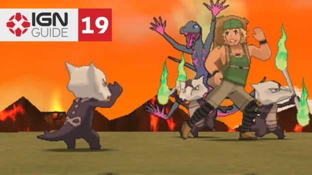 Wela Volcano Park - Pokemon: Sun and Moon Walkthrough