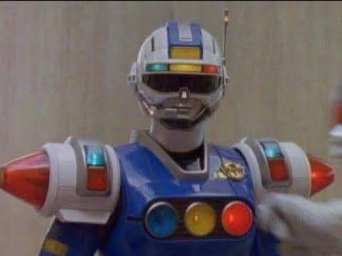 Power Rangers Turbo - The Millennium Message - Blue Senturion joins the ...