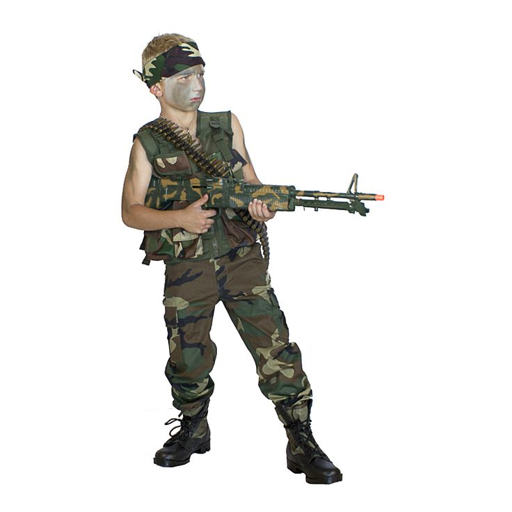Rambo Costume Ideas 13 best Kids Army Hall...