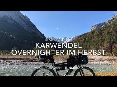 4k MTB Herbstlicher Bikepacking Overnighter im Karwendel