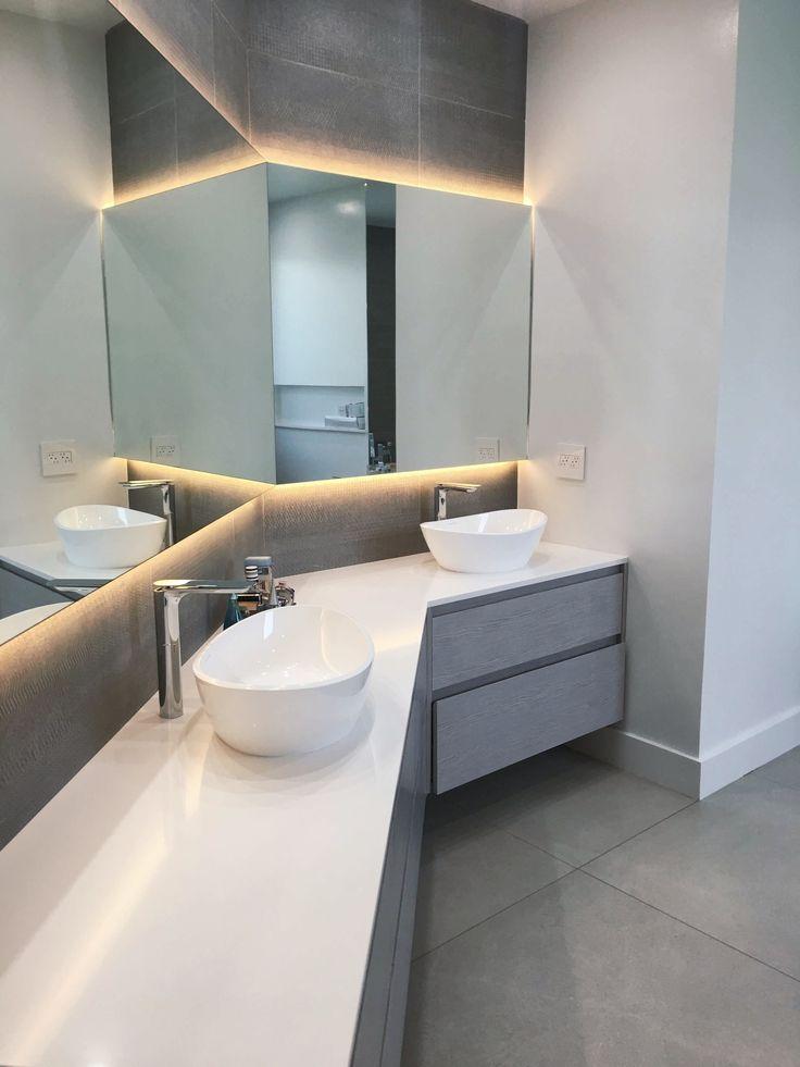 Modern Bathroom by GoldFox Interiors