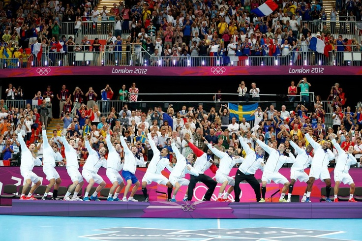 Equipe de France de handball Championne Olympique - JO Londres 2012 - Photo par Stéphane Pillaud (Sportissimo)