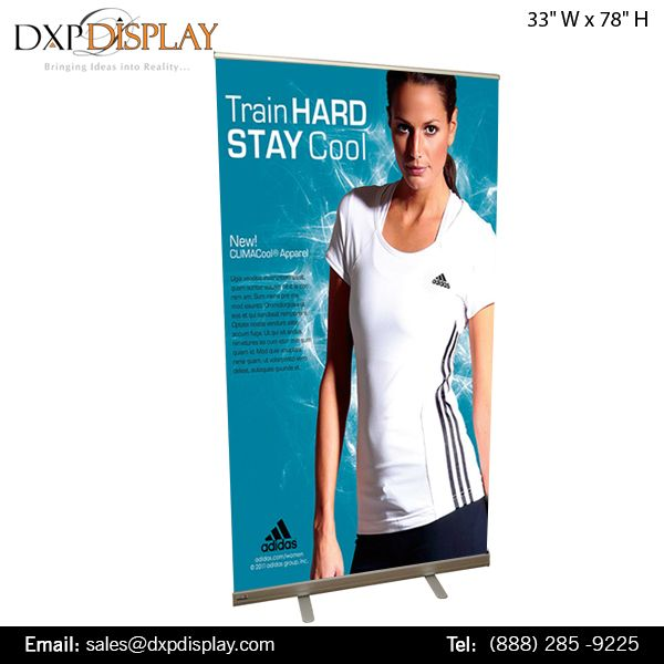Create an Attitude of Company Brand and Message with Retractable Banner stands