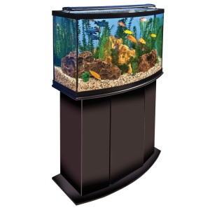 Marineland euro aquarium led light and stand over 40 for Petsmart fish filters