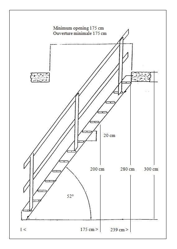 Holzland molenaarstrap laddershop zoldertje pinterest for Lengte trap