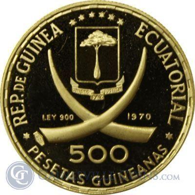 1970 Equatorial Guinea Abramo - thumbnail | goldankauf-haeger.de