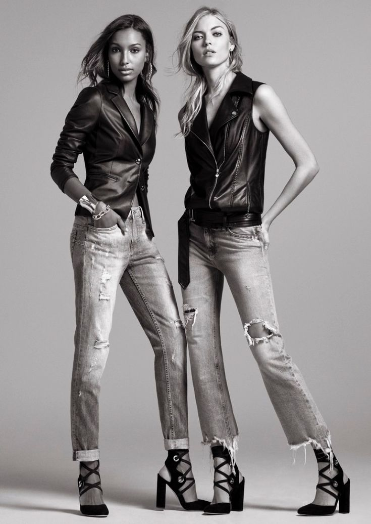Martha Hunt and Jasmine Tookes star in Liu Jo's spring-summer 2017 campaign