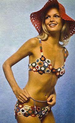 Vintage swim: Burda Moden, March 1971