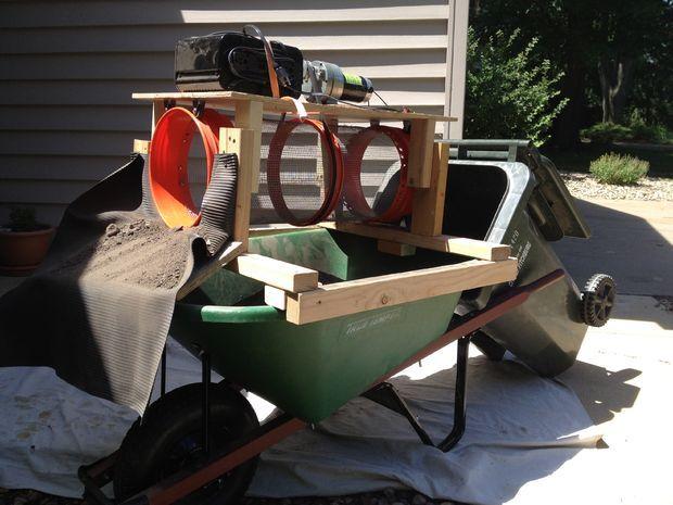 Picture of Powered Wheelbarrow Trommel