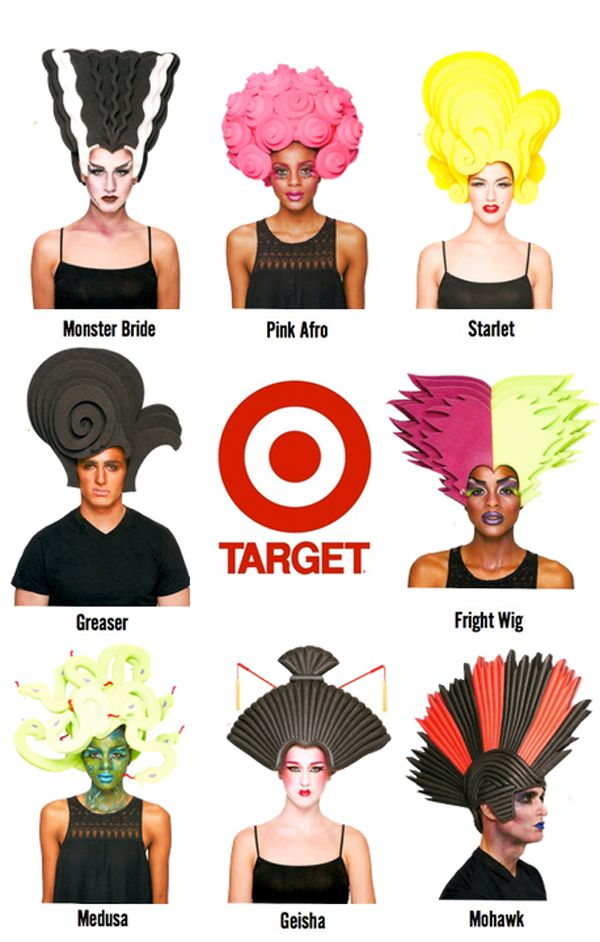 "OK! Magazine | Chris March Teams Up With Target For ""Big Fun"" Halloween Wigs"