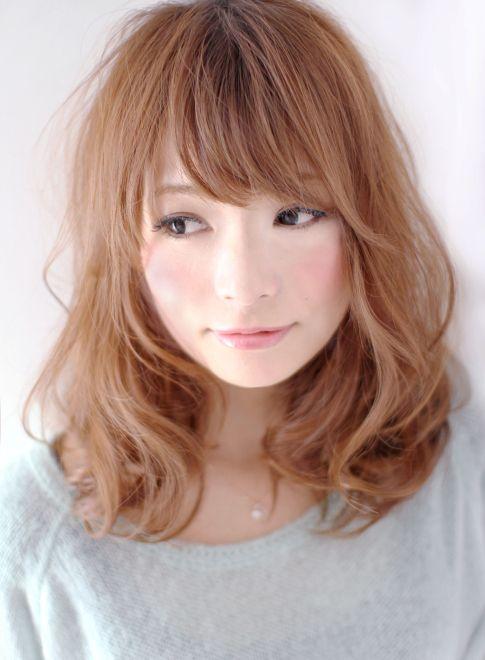 大人可愛いヌーディなラベンダーアッシュ 【arte HAIR】 http://beautynavi.woman.excite.co.jp/salon/23976?pint ≪medium・hairstyle・ミディアム・ヘアスタイル・髪形・髪型≫