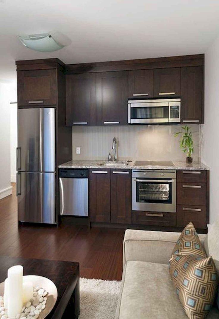 55 Rental Apartment Kitchen Design Ideas   Small apartment ...