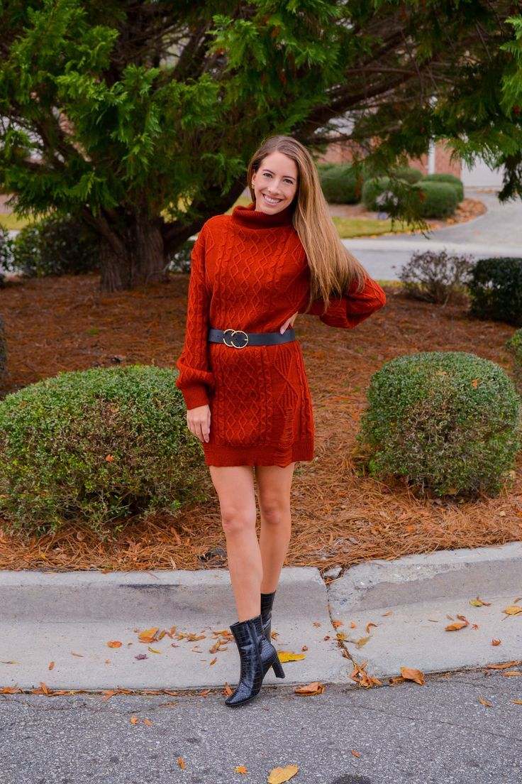 Red Sweater Dress Beautiful Womens Sweaters Winter Fashion Outfits Petite Work Outfits [ 1104 x 736 Pixel ]