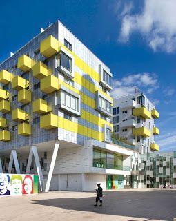 Contemporary Apartment Buildings