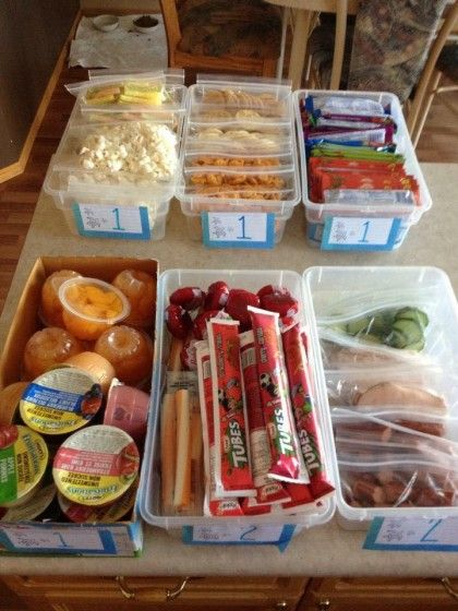 Tips and Ideas for Making Cold Lunches Easy and Cool {From a Mother of 8}