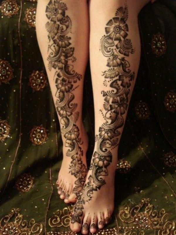 Best Leg Mehndi Design : Best leg mehndi designs our top picks henna