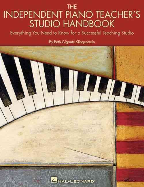 (Educational Piano Library). This handy and thorough guide is designed to help the independent piano teacher in all aspects of running his/her own studio. Whether it be business practices such as paym
