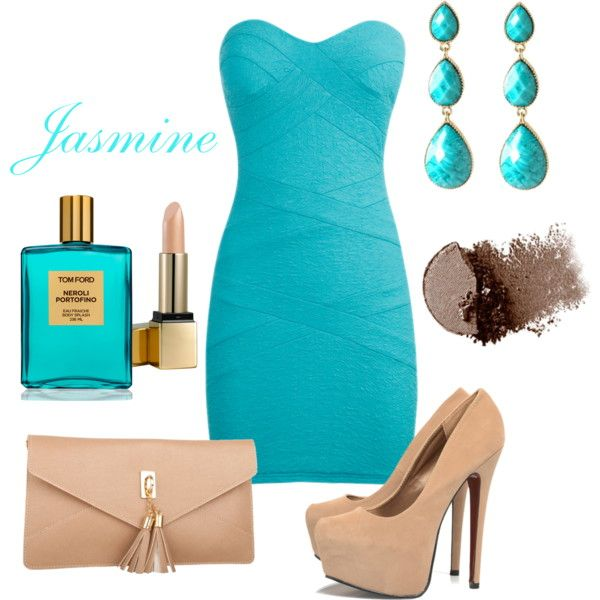 """Jasmine Disney Princess Girls Night out / Date Night / Prom Outfit"" by natihasi on Polyvore"