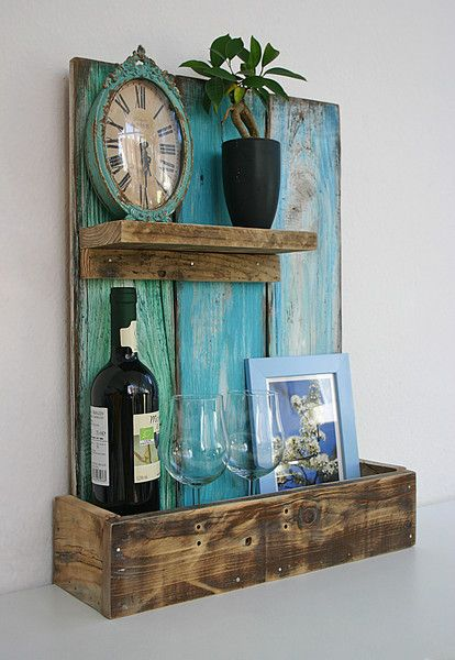 Best 10+ Wandregal vintage ideas on Pinterest  Holzdeko ...