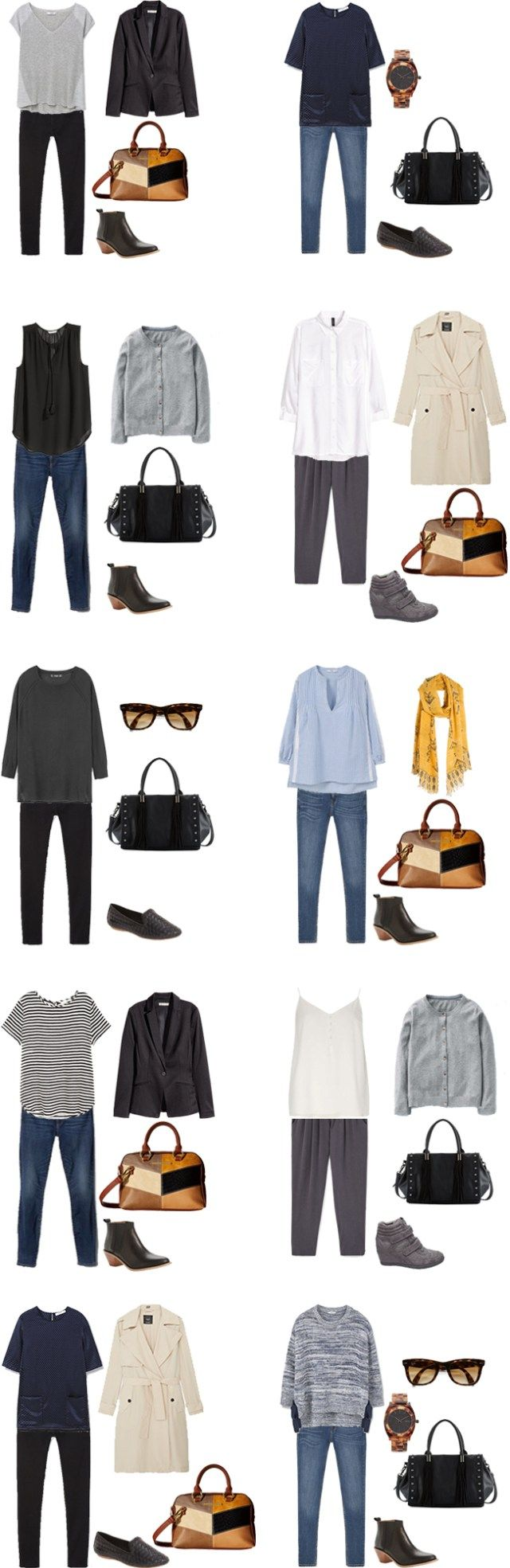 livelovesara - My life in a blog by Sara Watson. Packing list: 3 weeks on a Business Trip in Summer 2016. Outfits Options 1