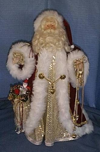 Old World Santa Collection | , Old World Santa's, victorian Santa's, angels,lace angels, santa ...