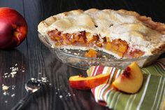 Nectarine Pie   CanolaEatWell.com