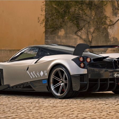 #2017 Pagani Huayra The begin key is a model around four inches in length Huayra aluminum machining costing 3 $ 700 association