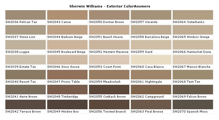 Interior House Paint Color Chart Sherwin Williams Paint Coloranswers House Paints Colors