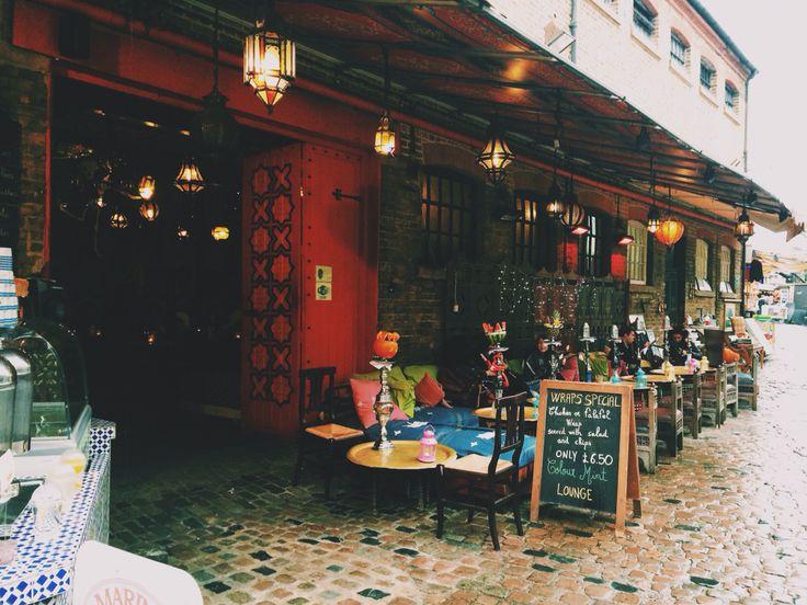 Shisha waterpipe café camden Market