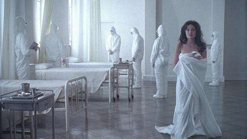 Escena final de la película «Gia»