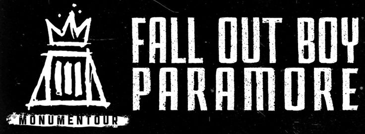 Fall Out Boy is back on tour this year with Paramore Get tickets here: http://www.ticketmaster.com/Fall-Out-Boy-tickets/artist/854398?c=LNSM_National_Pinterest_FOBParamore_2014tourboard_02062014