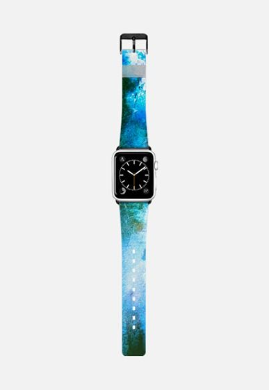 Blue Grungy Apple Watch Band (42mm) by Denis Marsili | Casetify (ES)