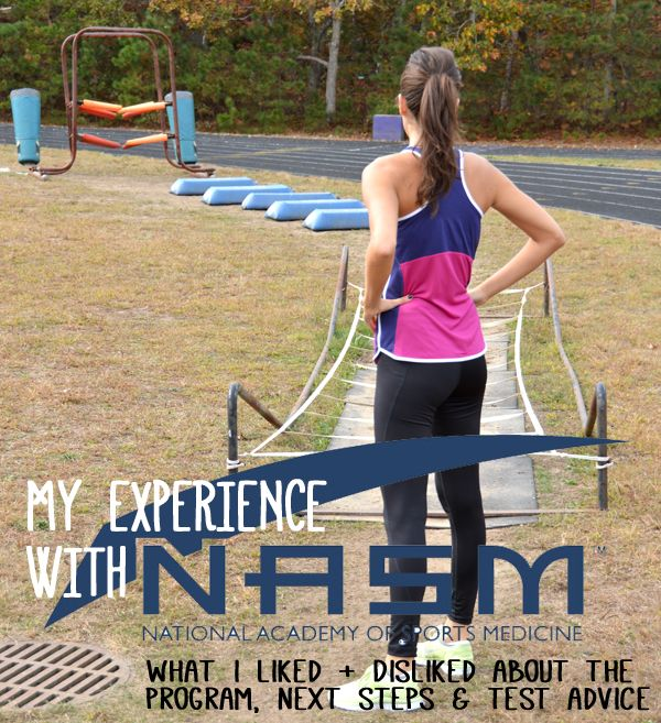 My Experience with the NASM Personal Trainer Certification Program - Pumps & Iron