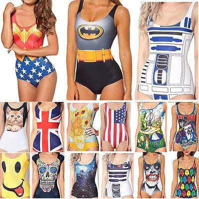 Sexy womens ladies #swimming costume one piece monokini swimsuit #swimwear #bikin,  View more on the LINK: http://www.zeppy.io/product/gb/2/381351994460/