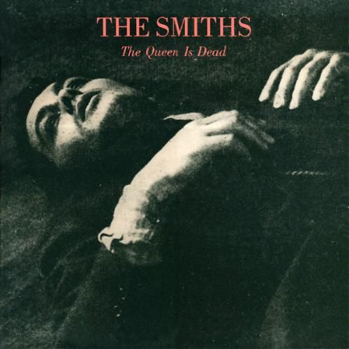The Smiths / The Queen is Dead featuring Alain Delon, on the cover.