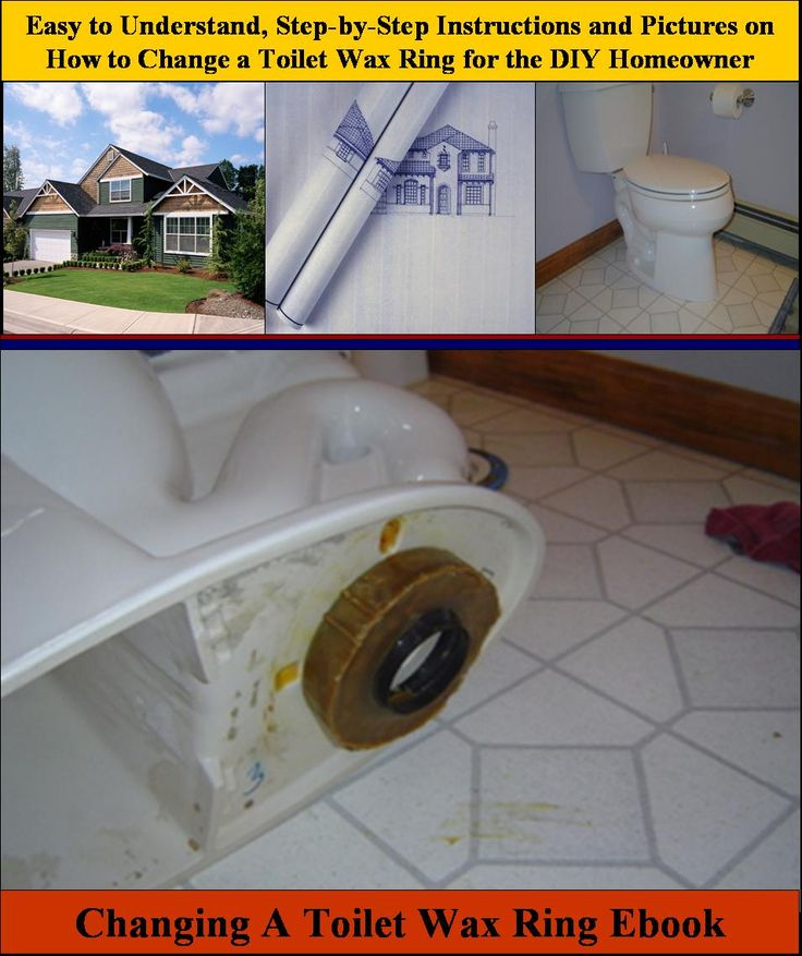 Step by Step Instructions on How to Replace a Toilet Wax