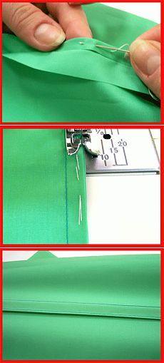 Французский шов: идеальная обработка для тонких тканей | Французский шов - мастер-класс от Анастасии Корфиати