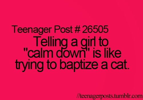 ~ why the heck tell me to calm down when I'm already calm tho. Then you change…