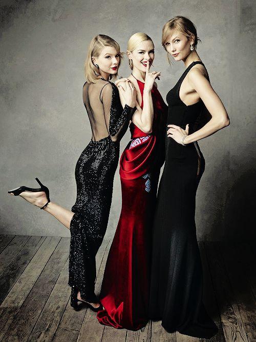 Taylor & Jamie & Karlie models meets music & fashion!