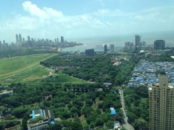 One of the best views of Mumbai! pic.twitter.com/9yGRftQgP1
