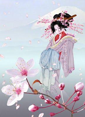 Borboleta Azul: Japonesas