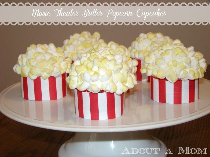 Pipoca Cupcakes - Ideias da mostra da concessão do partido