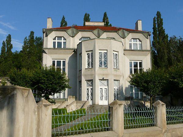 Prague cubist architecture