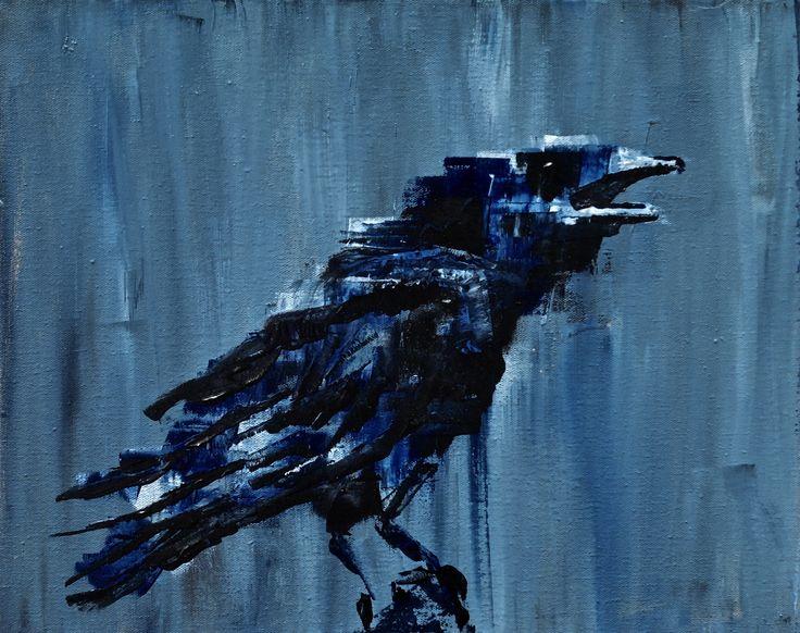 Chaugh - minimal animal painting by Jacek Sikora