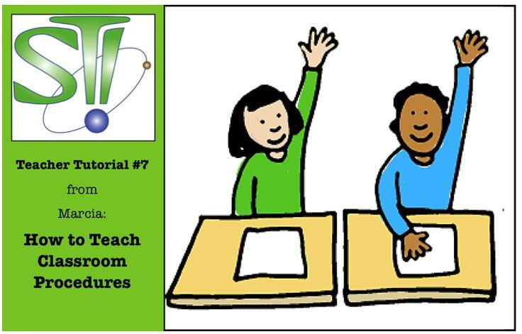How to Teach Classroom Procedures